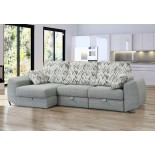 Shiva Chaise longue cama Visco4