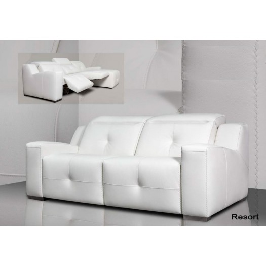 Chaise longue Resort Piel