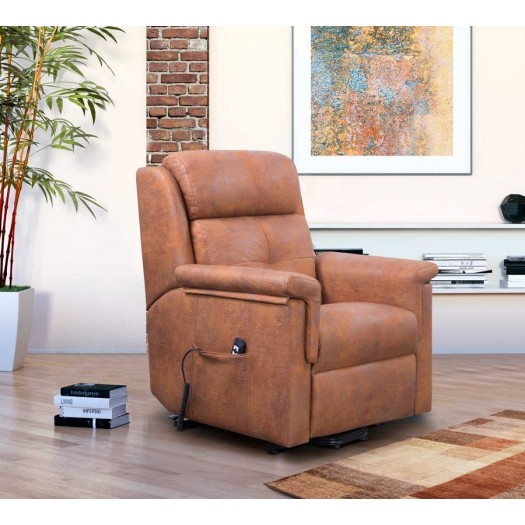 Sillón relax Albox - manual-electrico-levantapersonas en tela