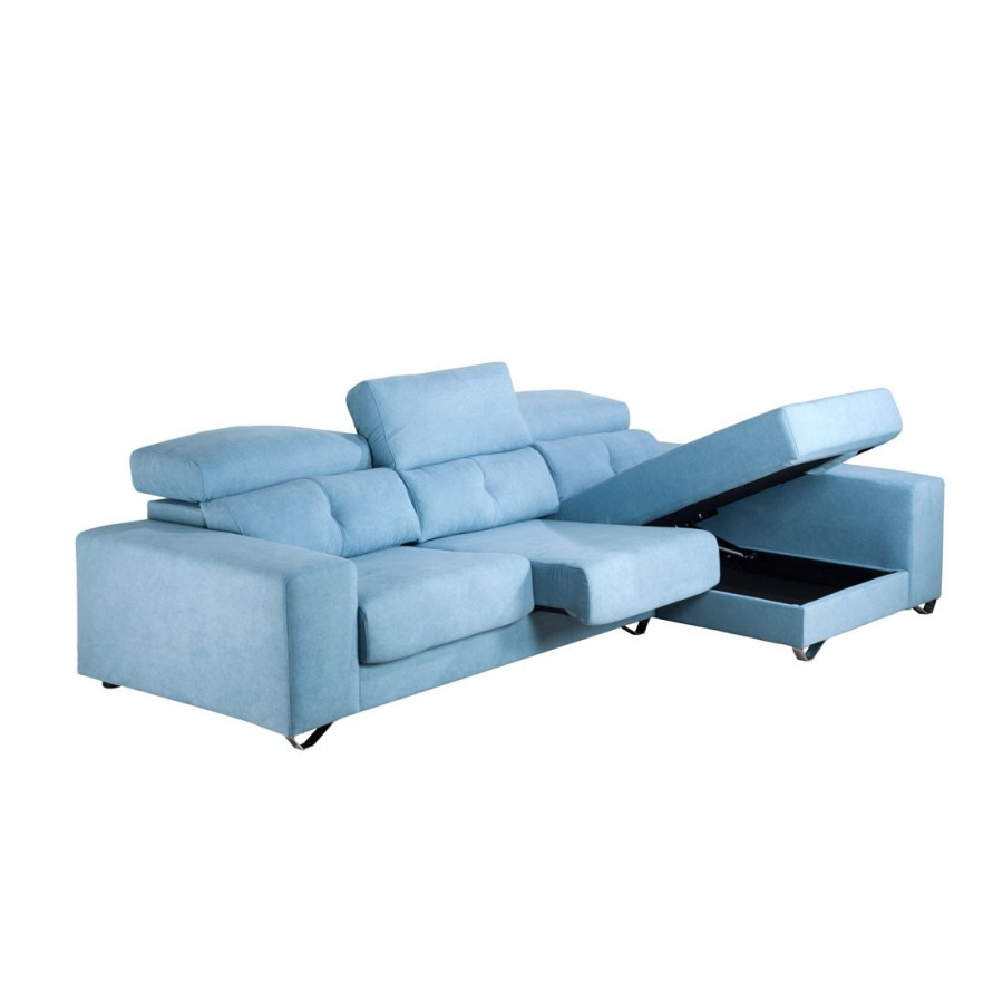 Sofa chaise longue oferta barcelona for Sofas ofertas