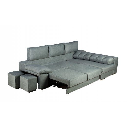 Sof chaise longue convertible en cama gran oferta y for Oferta sofa cama chaise longue