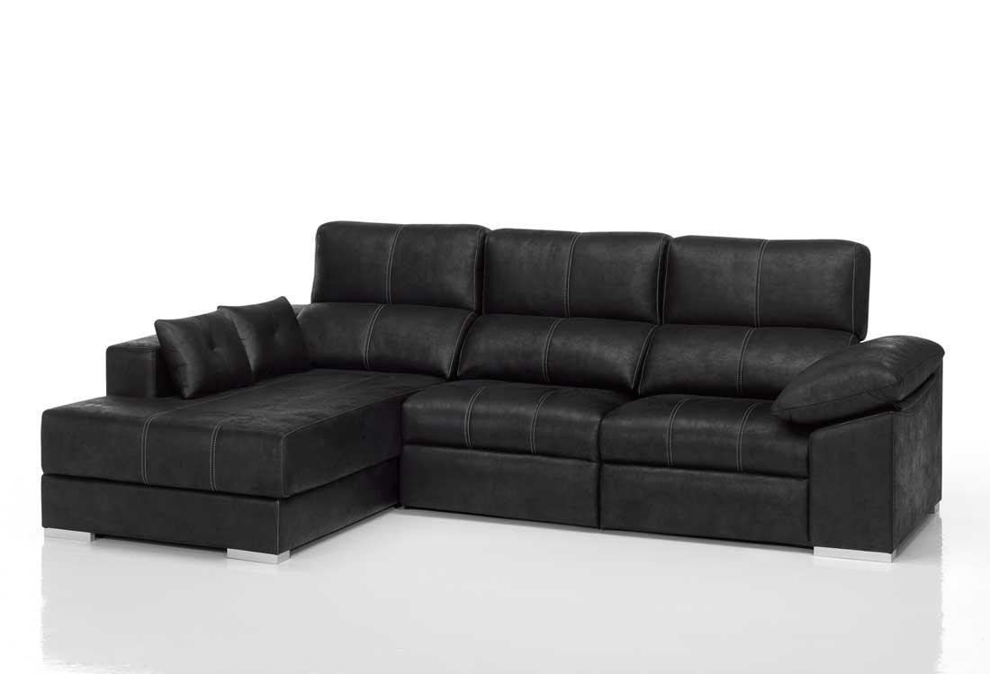 oferta sofa cama chaise longue barcelona. Black Bedroom Furniture Sets. Home Design Ideas